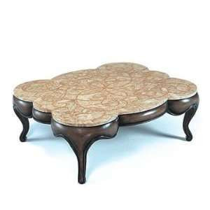 PC1093   Mosaic Fossil Stone Top Coffee Table