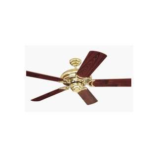 Monte Carlo 5DS52PB Designer Supreme Ceiling Fan Polished Brass Finish