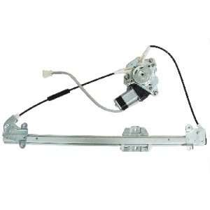 Coupe Front Power Window Regulator with Motor Driver Side Automotive