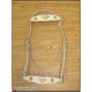 Portugese Show Bridle Headstall Reins