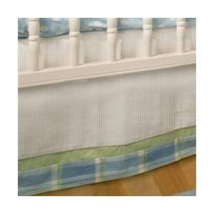 New Arrivals Sweet Pea Baby Crib Dust Ruffle Baby