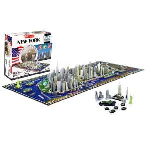 4D New York City Skyline Time Puzzle  Toys & Games