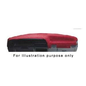 Dash Against Cracking & Reduces Sun Glare   Dodge Ram Truck 2007 Red