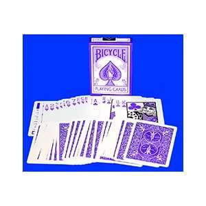 Reverse Deck Purple colored cards magic tricks