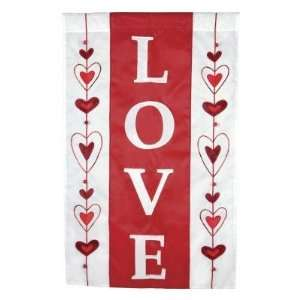 Valentines Day Heart Love Lover Garden Flag Patio, Lawn