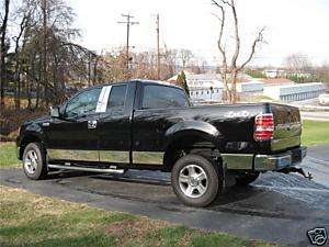 FORD F150 CHROME ROCKER PANELS 2004 2008