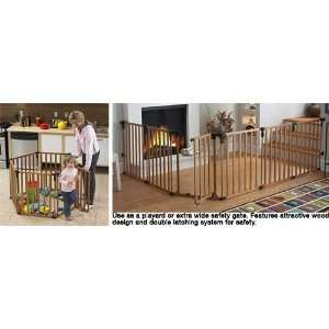 States 4940 North States Wood Superyard Extra Wide Safety Gate Baby