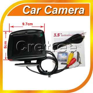 TFT LCD Car Reverse Rearview Color Monitor+Car Backup Camera System x1