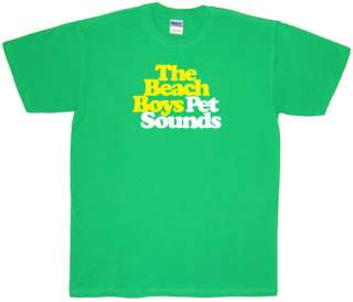 Beach Boys Pet Sounds T Shirt Brian Wilson   All Sizes