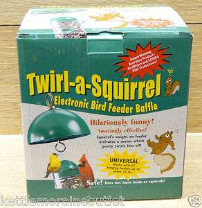 Twirl A Squirrel   Squirrel Proof Any Bird Feeder