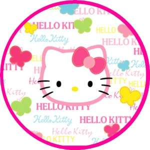Hello Kitty   Edible Photo Cup Cake Toppers   12 per set    $3