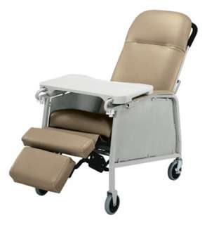 Lumex 574G Three 3 Position Recliner Geri Chair Taupe