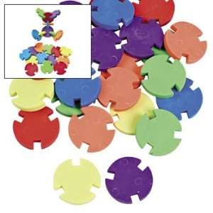 Disc Puzzle Erasers   Basic School Supplies & Erasers & Pencil Toppers