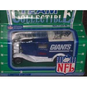 New York Giants 1990 Matchbox White Rose NFL Diecast Ford