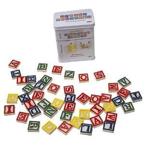 Magnetic Refrigerator Alphabet Blocks Toys & Games